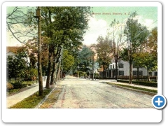 An early 20th century view of Warren Street in Beverly