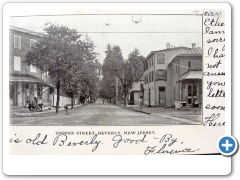 beverly - A view of Cooper Street from around 1908