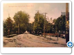 A look along Burlington Avenue in Beverly about 1910
