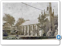 <br /><br /><br /><br /><br /><br /><br /> The Episcopal Church at Beverly about 1908