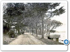 River Drive in Beverly around 1910