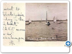 beverly - Sailboat Racing around 1907