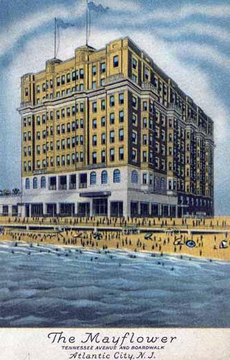The Mayflower Hotel and Motel Atlantic City, NJ