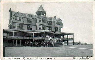 Stone Harbor Nj The Inn Hotel Around 1916