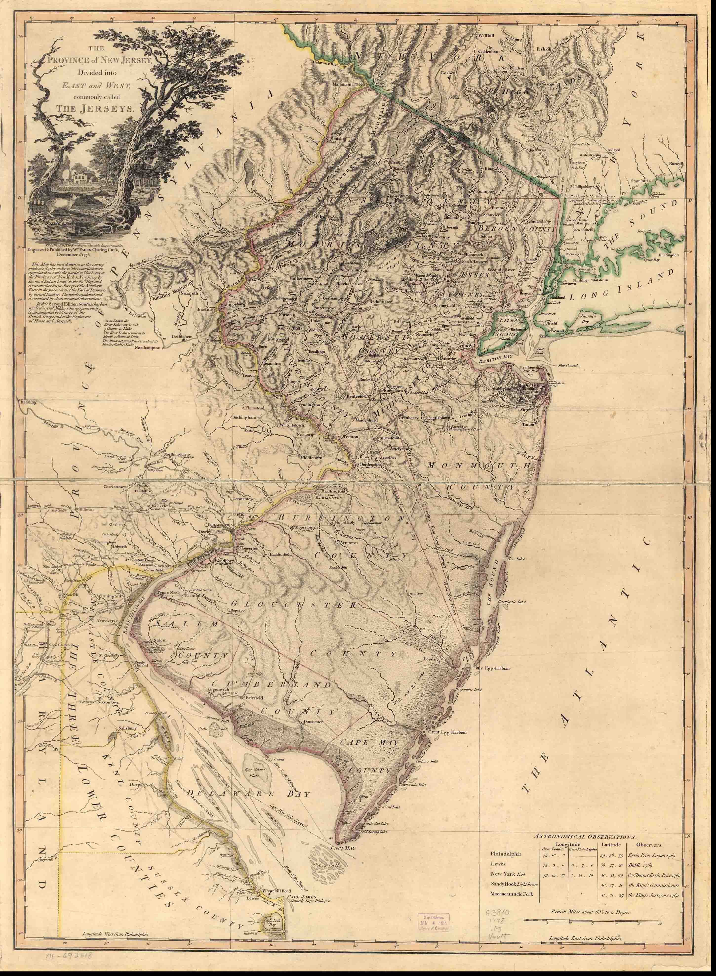 West Jersey History Project  Revolutionary War Era Maps