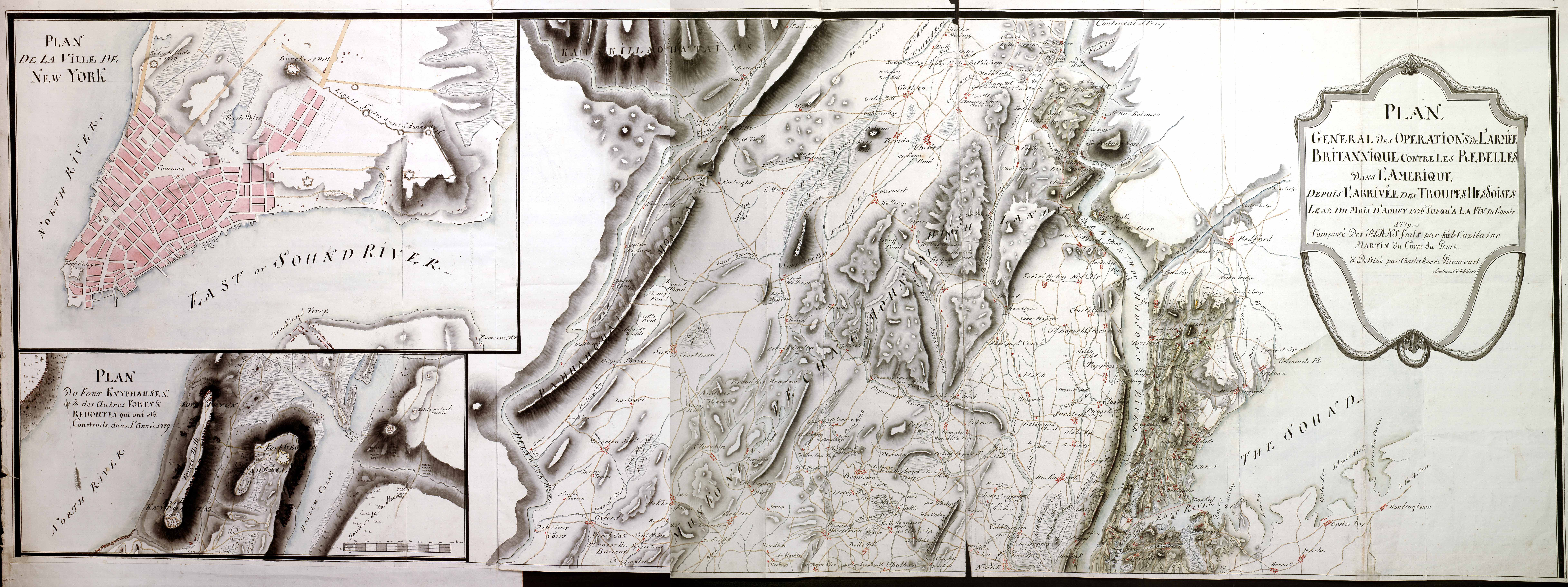 West Jersey History Project Revolutionary War Era Maps Hessian Map Of Northern New Jersey